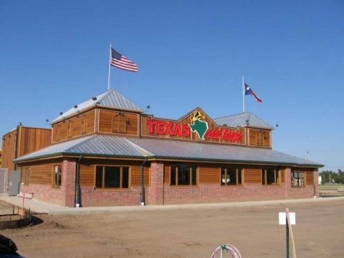 Standing Seam Metal Roofing In Eau Claire Texas Roadhouse